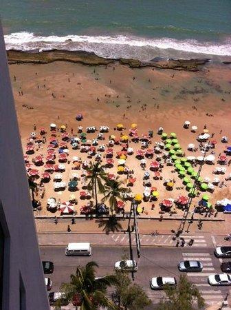 Golden Tulip Recife Boa Viagem: view to the beach