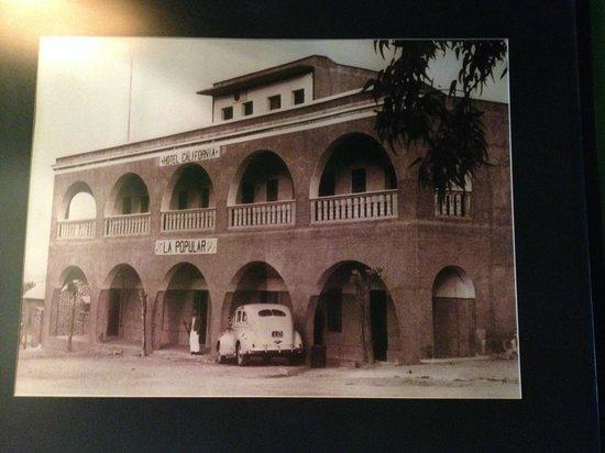 Hotel California: una foto antigua