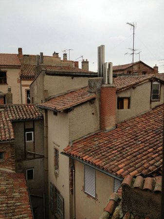 La Tour Sainte Cecile: another rooftop view from my window