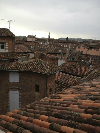 La Tour Sainte Cecile: rooftop view from my window