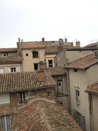 La Tour Sainte Cecile: rooftop view