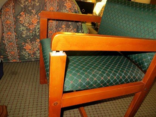 Days Inn Conference Center Branford / New Haven: Nice furniture!  Everything was broken
