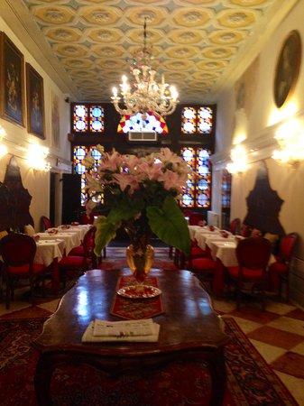 Hotel Palazzo Abadessa: Dinning area