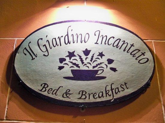Il Giardino Incantato Bed and Breakfast : Our Inn