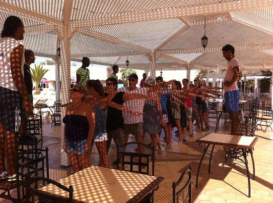 Hotel Djerba Les Dunes: Jeux d'apero