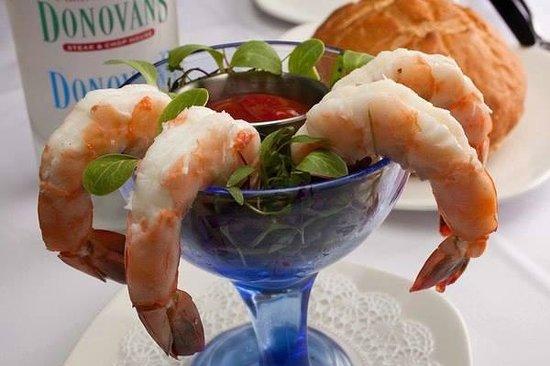 Donovan's Prime Seafood: Shrimp Cocktail
