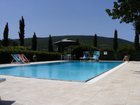 Podere Poggiluglio: The Pool