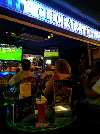Pub Cleopatra: The Big match