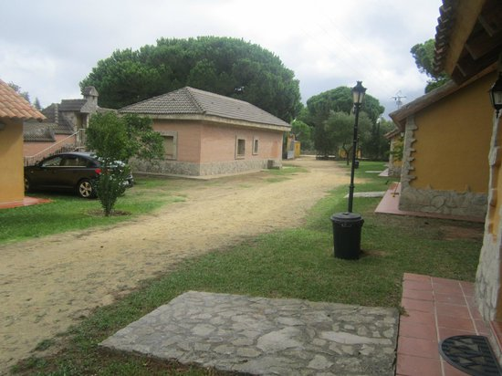 Camping Vejer: Zona bungalows