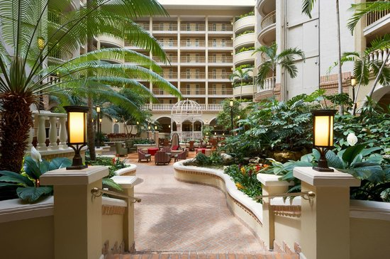 Hotel Atrium Picture Of Embassy Suites By Hilton Orlando North