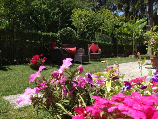 Villa Stella: Giardino