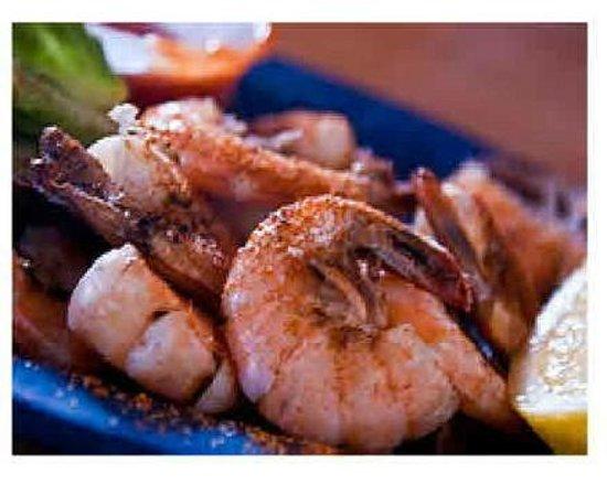 L'Entrecote: Crevettes au Pastis