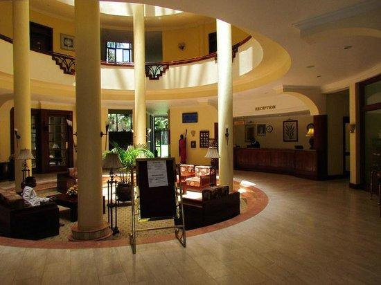 Kibo Palace Hotel : LObby de l'hotel