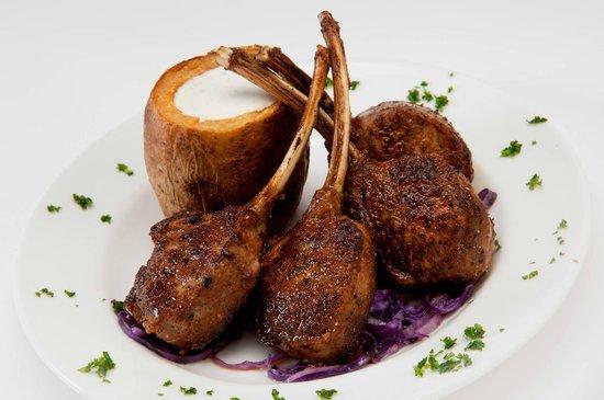 Donovan's Steak and Chop House: Cajun Seared Lamb Chops