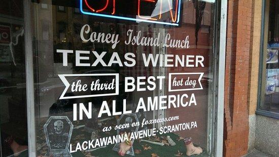 Coney Island Scranton Pa Menu
