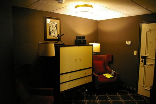 The Los Angeles Athletic Club Hotel: chambre