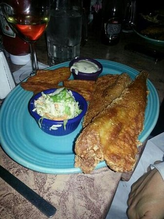 Old Mohawk Restaurant: fish and chips