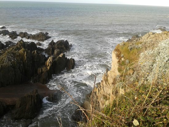 Woolacombe Beach: View from the cliffs