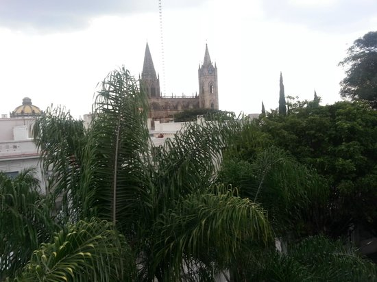 La Perla Boutique Bed & Breakfast: view from the terrace