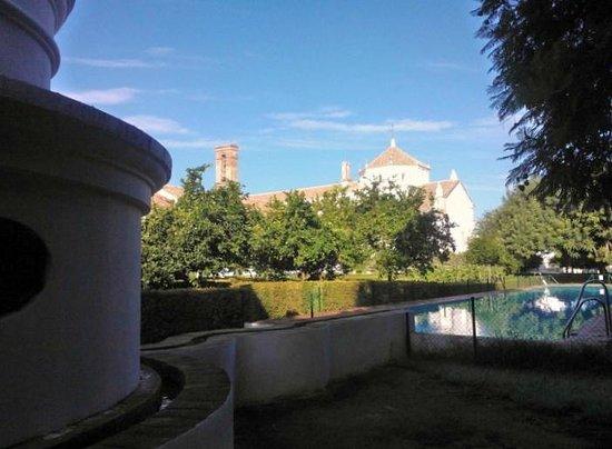 Monasterio de San Francisco : Jardín