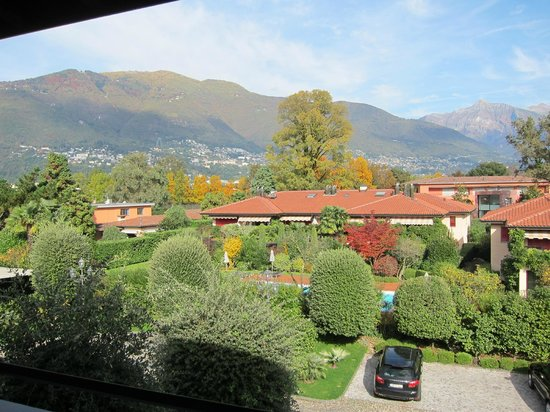 Giardino Ascona: Morning Sun room