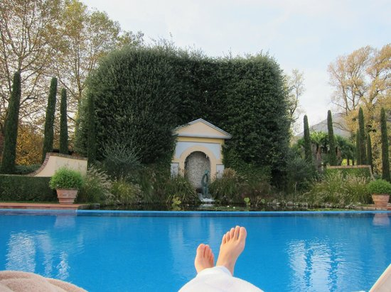 Giardino Ascona: Outdoor pool