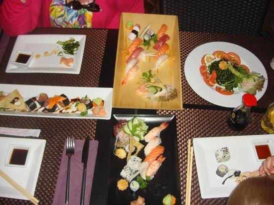 Sushi Mex  - Boulevard El Faro: onze maaltijd