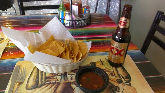 El Charro: Chips, Salsa, and a Cold Beer