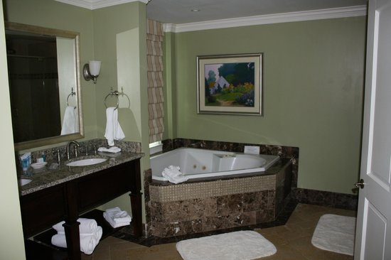 The George Washington A Wyndham Grand Hotel : Jr Suite bathroom