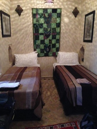 Riad Papillon: My room
