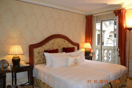 Hôtel Métropole Monte-Carlo : chambre 4ème étage