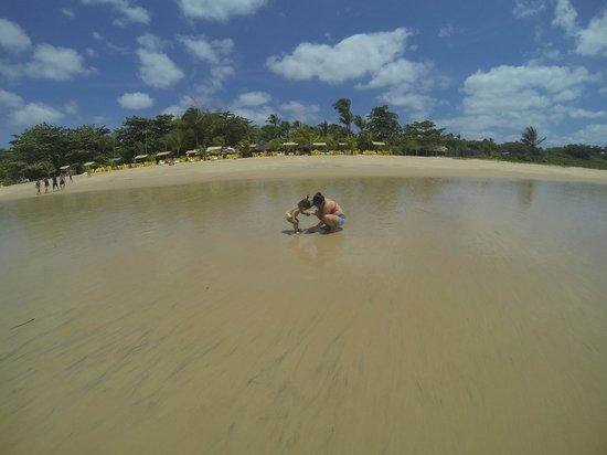 Recanto Rosa Amarela: praia proxima