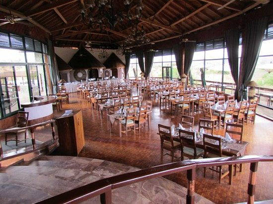 Tarangire Sopa Lodge: Salle à manger