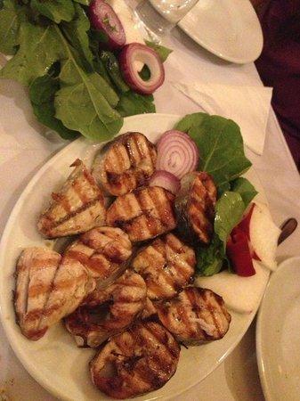 Asmali Cavit: Grilled Bonito (Izgara Palamut)
