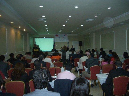 Hotel El Panama: salon para conferencia