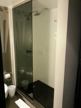 W Atlanta Midtown : useless shower screen