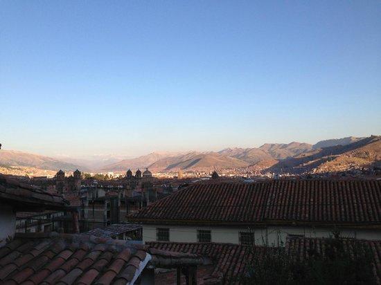 El Balcon: vista delde  mi habitacion al amanecer