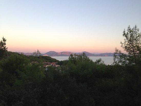 Alinn Sarigerme Boutique Hotel: Beautiful sunset