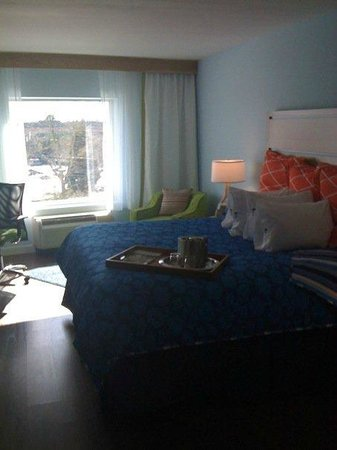 Hotel Indigo Raleigh Durham Airport at RTP : Spacious guest room