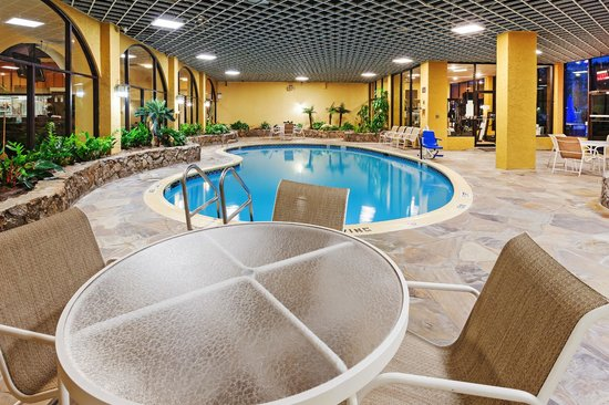 indoor pool and spa picture of crowne plaza suites