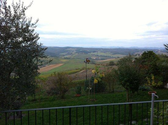 Villa Veronica: Vista da stanza piano terra