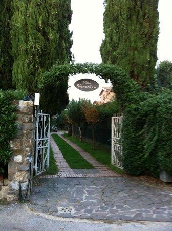 Entrata villa Veronica