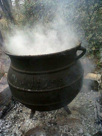 El Viejo Manzano: TYPICAL FOOD ARGENTINA WITH BEAN WHEAT CORN BEEF VEAL PORK SAUSAGE BACON COLORADO COLA
