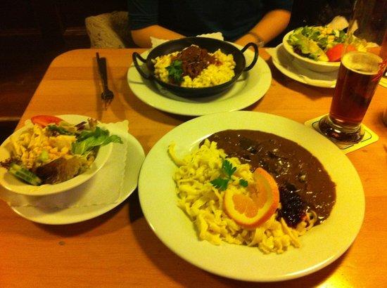 Neckarmuller: Venison & Käsespätzle