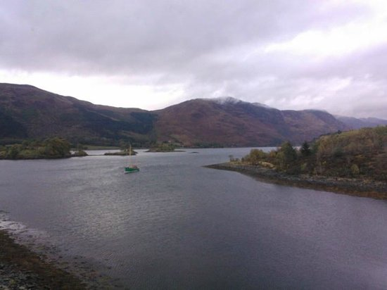 Isles of Glencoe Hotel & Leisure Centre: Room with a view