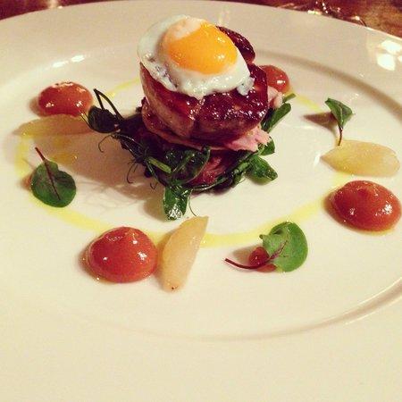 Holbeck Ghyll: Salad of warm Perigord quail