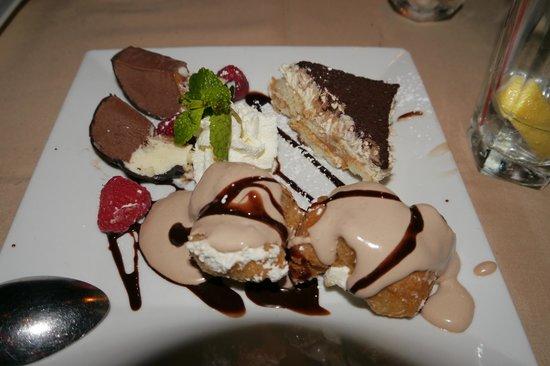 Club A Steakhouse: Dessert Selection
