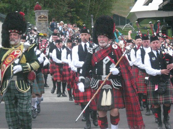 The Village Of Loon Mountain: N.H. Highland Games