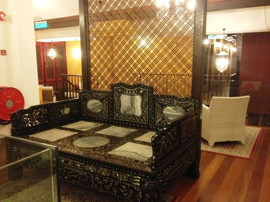 Yeng Keng Hotel: Upstairs reading area