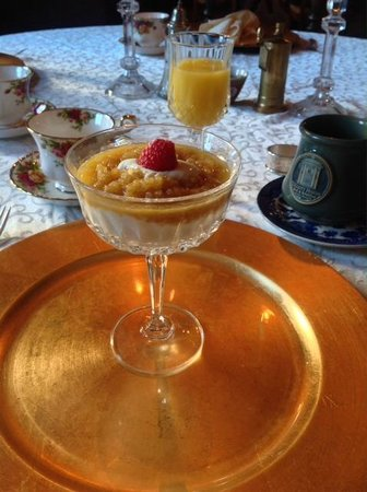 Olcott House Bed and Breakfast Inn : Breakfast